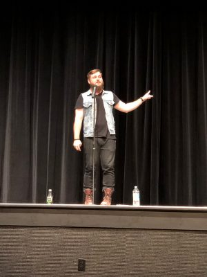 CF hosts poetry writers in honor of suicide awareness month