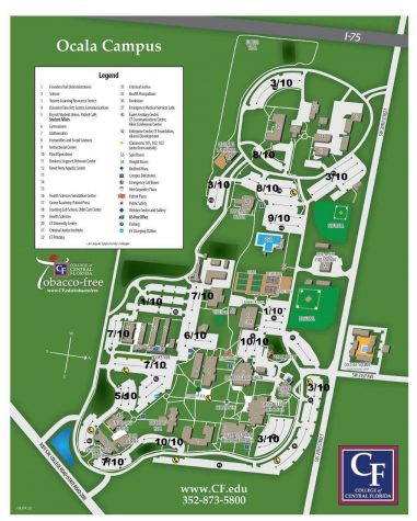 Listed above are all parking lots rated from one to 10 on connectivity. One is meant to be the lowest connectivity while 10 is meant to be the highest connectivity. This map is helpful for students looking for the perfect place to study.