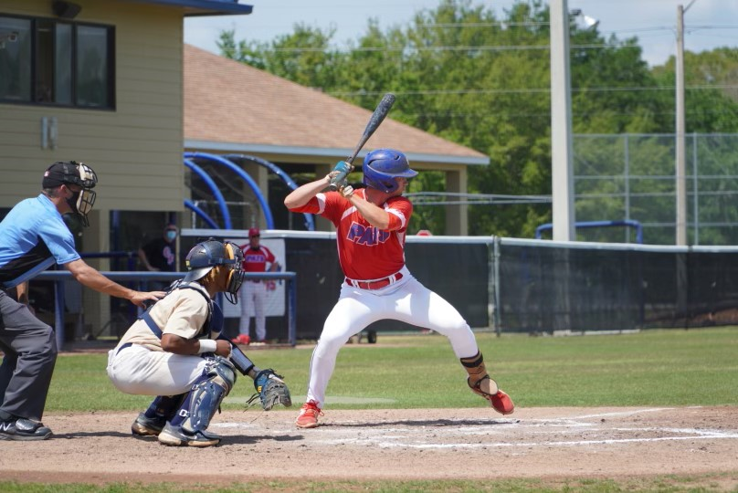 Matt+Cedarburg+is+a+Red+Shirt+Sophomore+here+at+CF.+He+also+plays+third+base+for+the+Patriots.+
